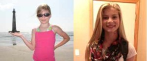 How Things Change: Emma 2008 (left), 2013 (right)