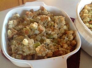 Grandma Ferdon's Gluten Free Stuffing