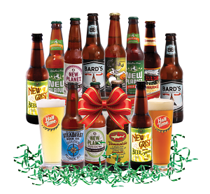 Gluten Free Beer Gift Basket; Courtesy: halftimebeverage.com