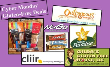 Check out Cyber Monday Gluten Free style!