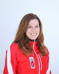 Canadian Speedskater Christine Nesbitt is also Gluten Free! Photo courtesy; www.speedskating.ca