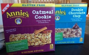 Annie's Homegrown Gluten Free Granola Bars