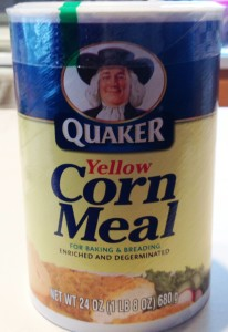 Corn meal not labeled gluten free, but doesn't contain unsafe ingredients