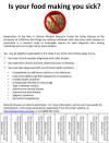 Flyer used to recruit patients for the study regarding barriers for celiac blood testing
