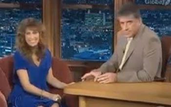 Esposito on Craig Ferguson's show during Samantha Who? days