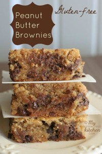 Gluten-Free Peanut Butter Brownies Photo: My Gluten-Free Kitchen