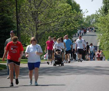 2-mile walk is part of the Making Tracks event in the Twin Cities this weekend.