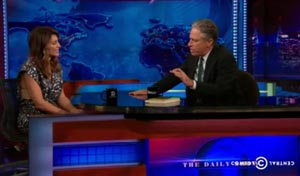 The Daily Show's John Stewart talks celiac disease with Jennifer Esposito June 24, 2014