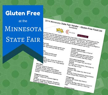 Vendor List for Gluten Free Food at the Minnesota State Fair
