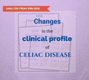 Bmc gastroenterology this week examines a span of 15 years of celiac