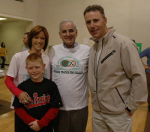 Honorary Chairmen Heidi Collins (pictured with son Reilly), Rich Gannon (right), and Governor Mark Dayton (center) in 2011