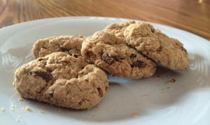 Trios gluten-free cookies from the Girl Scouts