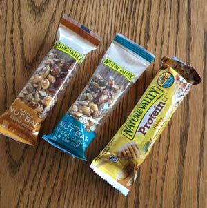 We found these now-recalled nut bars in our pantry over the weekend